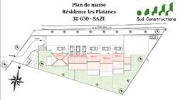 Résidence Les Platanes   Saze - Villa n°1