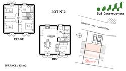 Vacqueyras | Terrain n°2 + Maison