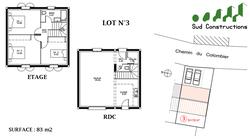 Vacqueyras | Terrain n°3 + Maison