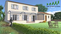 Modèle Bastide de 130 m²