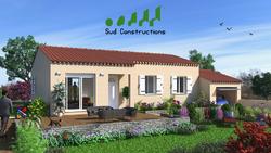 Modèles maisons Rdc avec porche d'entrée